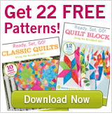 AccuQuilt Free Patterns - Click Here.
