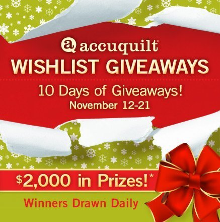 Wishlist Giveaways! 10 Days of Giveaways! November 12 – 21 - $2,000 in Prizes!* - Winners Drawn Daily