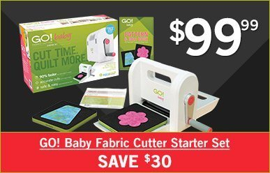$99 - GO! Baby Fabric Cutter Set - Save $30