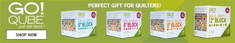 GO! Qube - Perfect Gift for Quilters!