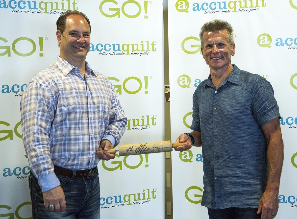 Greg Gaggini and Steve Nabity