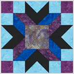 Barn Quilt Top 100