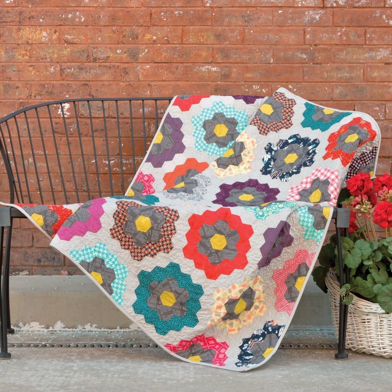 AccuQuilt GO! Urban Flower Garden Quilt Pattern
