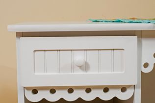 Arrow Olivia (White) Sewing Cabinet