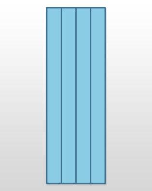 """Studio Super Strip Cutter-2"""" (1 1/2"""" Finished) 4 Strips"""