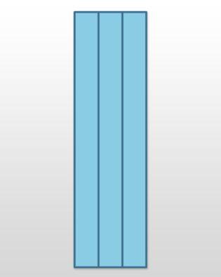 """Studio Super Strip Cutter-2 1/4"""" (1 3/4"""" Finished) 3 Strips"""