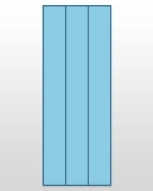 """Studio Super Strip Cutter-3"""" (2 1/2"""" Finished) 3 Strips"""