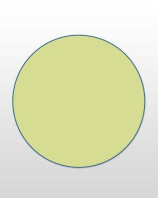 "Studio Circle-8 1/2"" (Jumbo)"