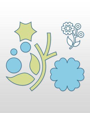 Studio Round Flower (3-Die Set)