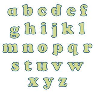 "Studio Carefree 3"" Lowercase Alphabet"