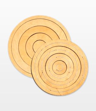 "Bullseye Circles-Odd-1"", 3"", 5"", 7"" for Studio (50361)"