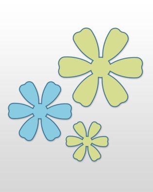 Studio Flowers Trio (Long Cut)