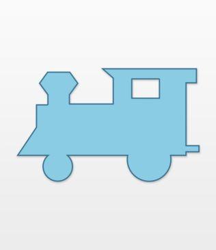 Studio Locomotive #1 (Large)