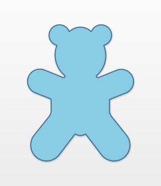 Studio Teddy Bear #1 (Large)