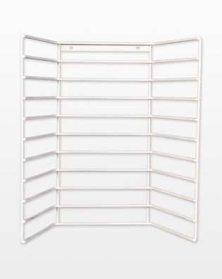 Wire Storage Rack - Holds 10 AccuQuilt Studio Jumbo Dies (50827)