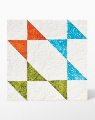 "GO! Half Square-4"" Finished Triangle (55031)"