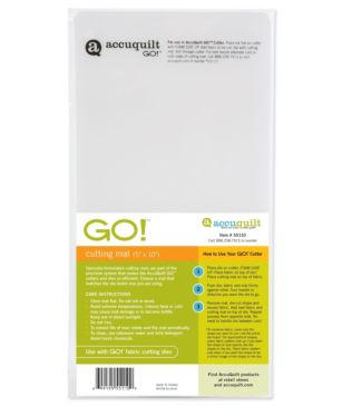 "GO! Cutting Mat 5"" x 10"" 2 Pack"