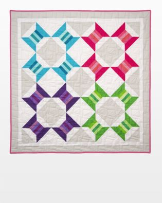 GO! Spools Squared Quilt Pattern