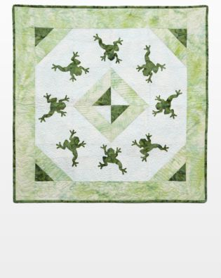 GO! Dancing Frogs Wall Hanging Pattern