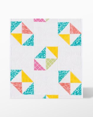 """GO! Half Square Triangle-2 1/2"""" Finished Square fabric cutting die (55257)"""