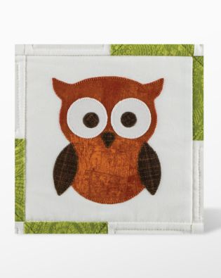 GO! Owl Fabric Cutting Die (55333) - packaging shown.
