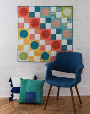 GO! Circle in the Square Wall Hanging Pattern