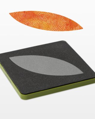"""GO! Orange Peel-4 1/2"""" Fabric Cutting Die (55455) - packaging"""