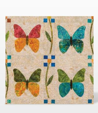 GO! Butterfly by Edyta Sitar (55467) fabric cutting die - Die package shown.