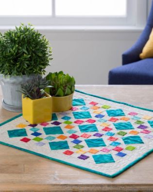 GO! 9-Patch Table Topper Pattern