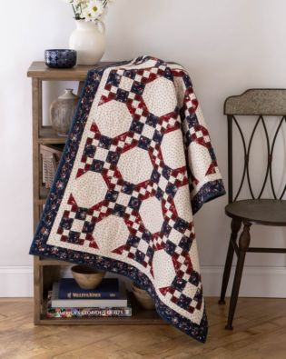 GO! Linked Up Throw Quilt Pattern