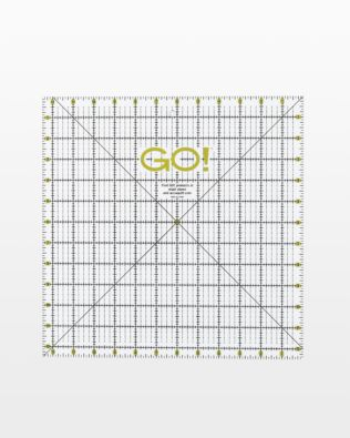 "GO! Quilting Ruler-12 1/2"" x 12 1/2"" (55475)"