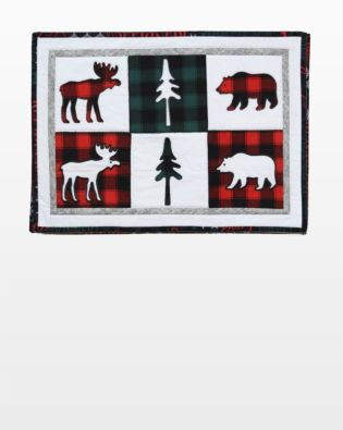 GO! Northwoods Medley Holiday Placemats Pattern