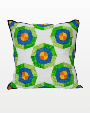 GO! Spider Web Rings Pillow Pattern
