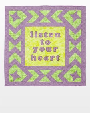GO! Listen to Your Heart Quilt Pattern
