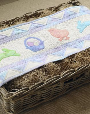 GO! Spring Medley Table Runner Pattern