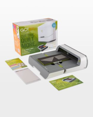 GO! Big Electric Fabric Cutter Starter Set (55500) - shown with everything included.