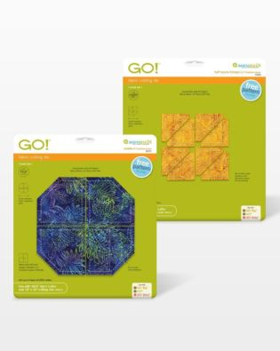 GO! Double Wedding Ring Quilt die(55078)