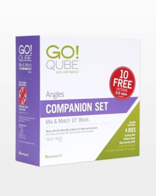 "GO! Qube 10"" Companion Set-Angles"