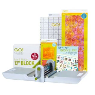 "GO! Just Add Fabric-12"" Block Starter Pack (56072)"