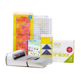 "GO! Big Just Add Fabric-12"" Block Starter Pack (56074)"