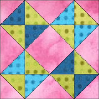 "GO! Broken Dishes 12"" Block Pattern (PQ10444)"