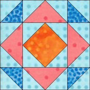"GO! Depression 8"" Block Pattern"