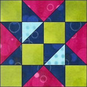 "GO! Free Trade 8"" Block Pattern"
