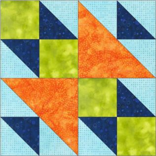 "GO! Double X No. 1 6"" Block Pattern (PQ10608)"