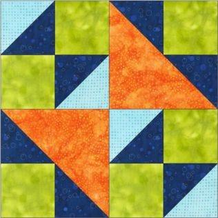 "GO! Double X No. 2 8"" Block Pattern"