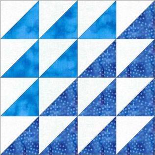 "GO! Qube Mosaic No. 17 9"" Block Pattern (PQ10563Q)"
