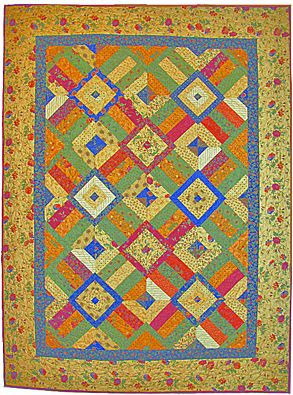 GO! Jelly Boxes Quilt Pattern