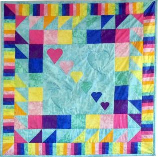 GO! Colors a' Plenty Quilt Pattern