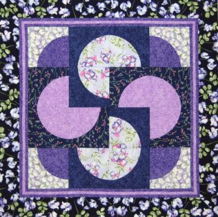 Card Tricks All Around Quilt Pattern