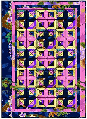 GO! Path to the Orient Quilt Pattern
